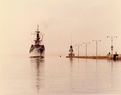 HMS Ajax, 1963 - Oshawa Harbour