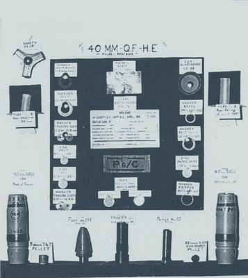Defence Industries Limited - Shells (munitions) - 40 mm Q.F.-H.E. round