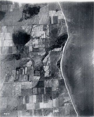 Lake Ontario - Shoreline, c. 1927 - Ajax - Aerial Photograph
