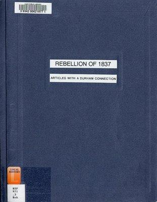 Rebellion of 1837