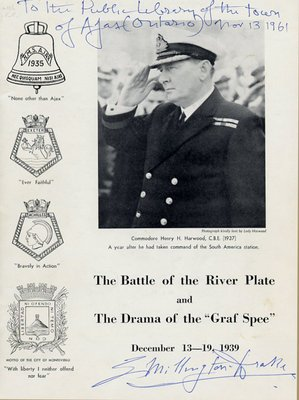 "The Battle of the River Plate and The Drama of the ""Graf Spee"""