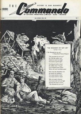 The Commando Ajax Ontario April 1945 Volume 3 No. 9