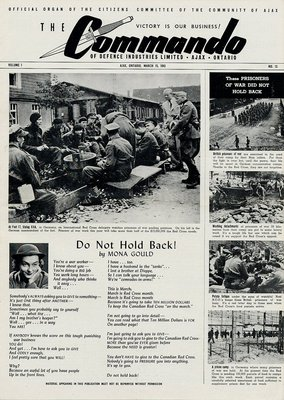 The Commando Ajax Ontario March 15, 1943 Volume 1 No. 13