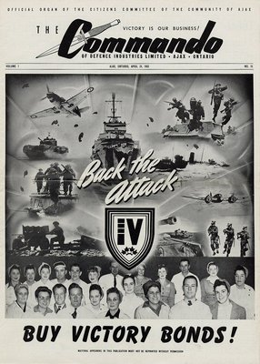 The Commando Ajax Ontario April 24, 1943 Volume 1 No. 15