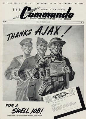 The Commando Ajax Ontario May 15, 1943 Volume 1 No. 16