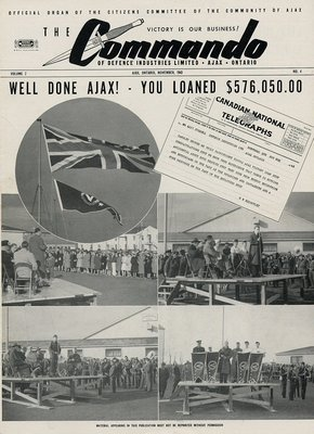 The Commando Ajax Ontario November, 1943 Volume 2 No. 4