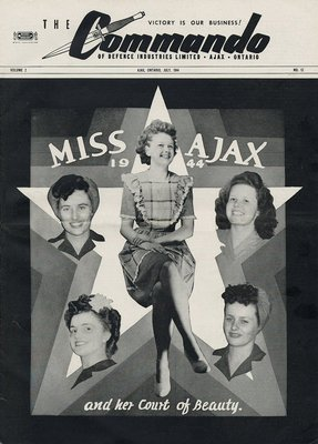 The Commando Ajax Ontario July, 1944 Volume 2 No. 12