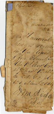 Letter fragment