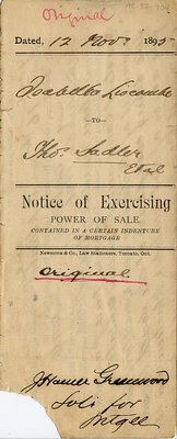 Notice of Exercising Power of Sale 3