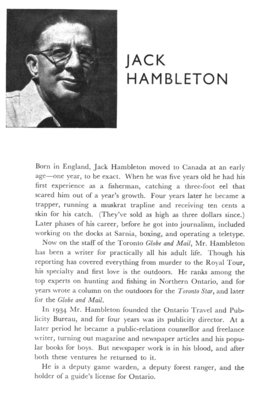 Jack Hambleton biographical sketch