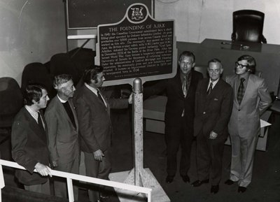 Ajax Historic Plaque Ceremonies