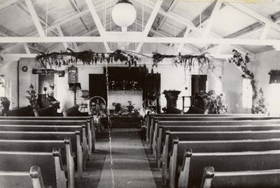Interior of an unknown church