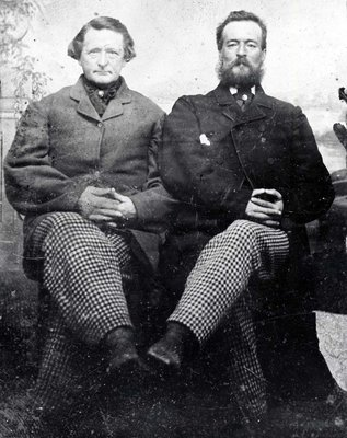 Two unidentified men
