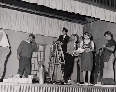 Citizens in a play