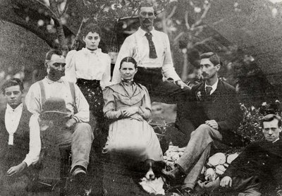 Thomas Field, wife Sarah Sparks and family