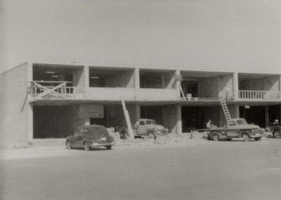 Construction of Glenwood and Conith building.