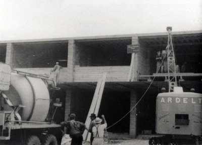 Construction of Glenwood and Conith building