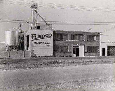 Fledco Concrete Pipe plant