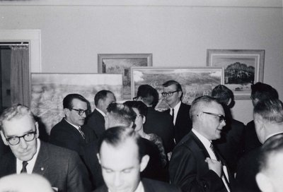 Cocktail party before Index '69