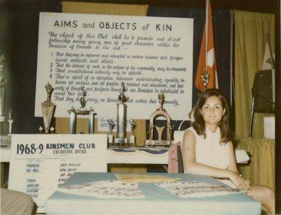 Kinsmen Club Display at Index '69