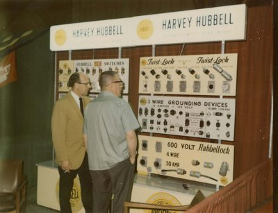 Harvey Hubbell display at Index '69