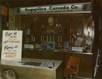Supplies Canada Company display at Index '69