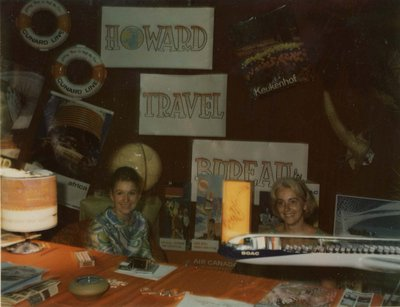 Howard Travel Bureau display at Index '69