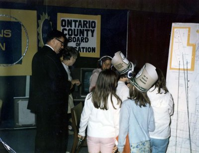 Ontario County Board of Education display at Index '69