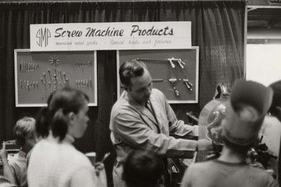 Screw Machine Products display at Index '69
