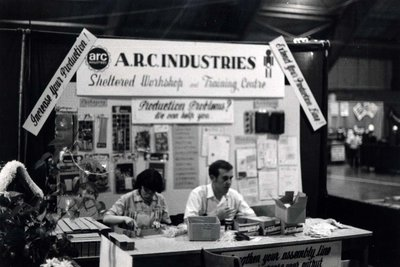 A.R.C. Industries display at Index '69