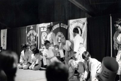 Judo display at Index '69