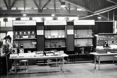 An electronics display at Index '69