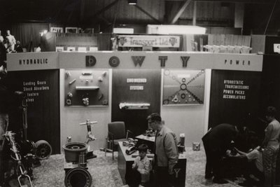 Dowty display at Index '69