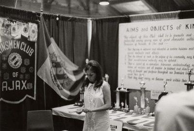 Kinsmen Club display at Index '69