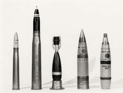 Defence Industries Limited - Shells filled at D.I.L.
