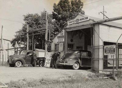 D.I.L. Vehicle inspection on Harwood Ave.