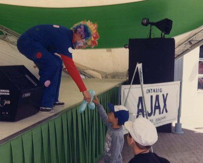 Ajax Day at the CNE