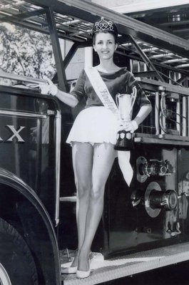 Miss Ajax Firefighter 1965 Mary-Anne Azzopardi