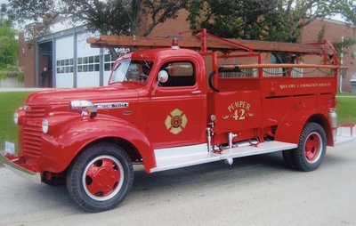 Refurbished 1942 GMC Fire Engine