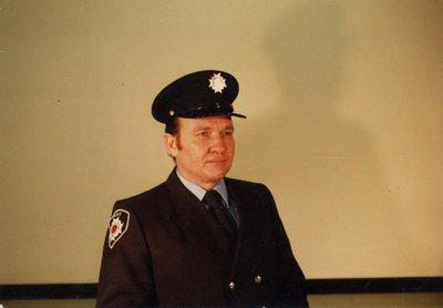 Firefighter Ken Robertson
