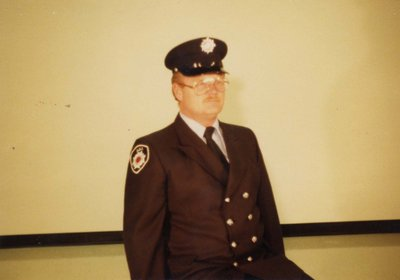 Firefighter Roy Wilson
