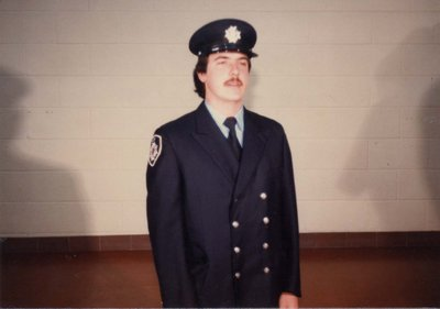 Firefighter Dave Hutchinson