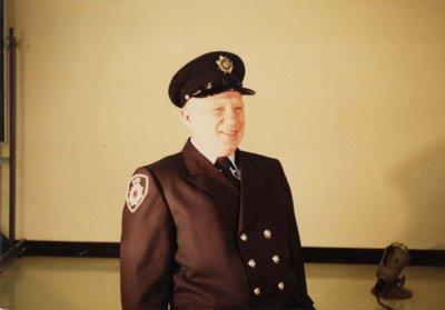 Firefighter Corey Boss