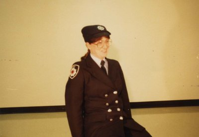 Firefighter Cathy Bell