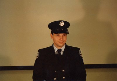 Firefighter Malcolm Wadsworth