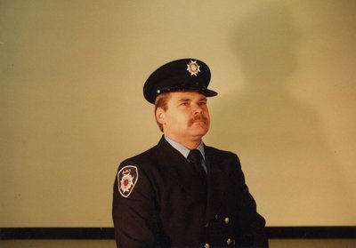 Firefighter Bill Campbell
