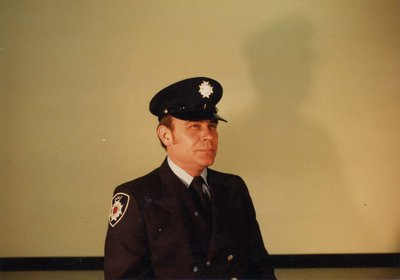 Firefighter Gerry Hannon