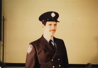Firefighter Rick Browning