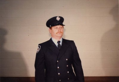 Firefighter John Chalmers