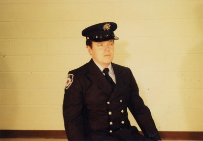 Firefighter Davie Clarke